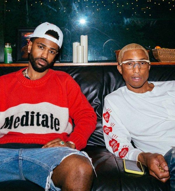 Pharrell en studio avec ... - 20 avril 2018
