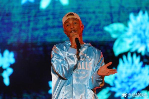 Pharrell - Grammy Festival - Beijing, Chine - 30 avril 2018