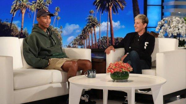 Pharrell - Ellen Show - Novembre 2018