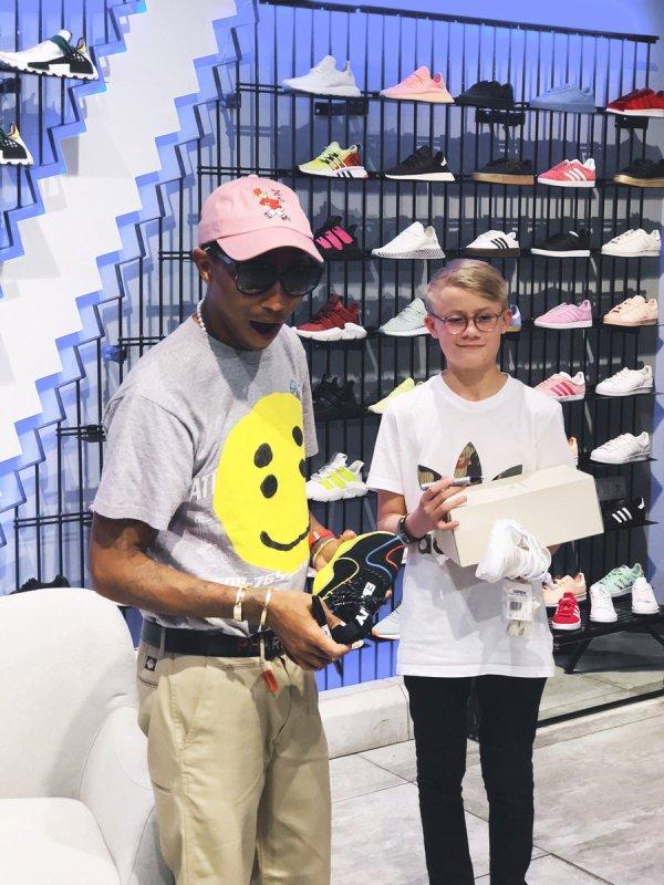 Pharrell - Adidas Johannesburg - 1er décembre 2018