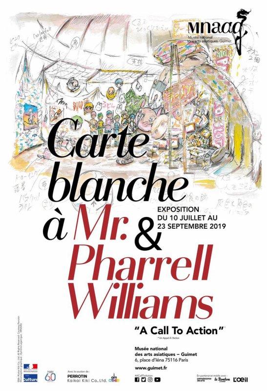 Carte Blanche à Mr. et Pharrell au Musée Guimet