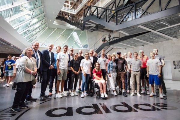70e anniversaire d'Adidas - Herzogenaurach, Allemagne - 9 août 2019