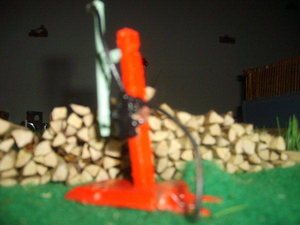 Construction du fendeuse à bois !