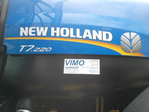 Pour les fan de new holland