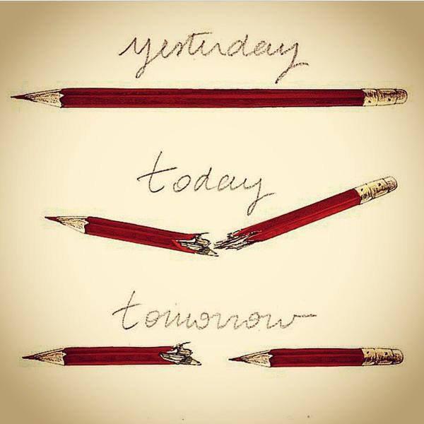 Un crayon contre une kalachnikov ....
