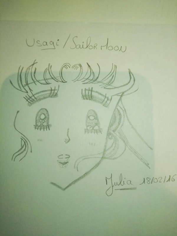 Dessin Sailor Moon