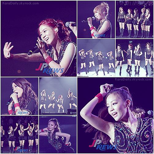 """. . Le 21 juin 2012 : Quelques photos datant du 17 juin de la performance des KARA dans """"Love Festival-1 Saison 2"""" ~ ♥   ."""