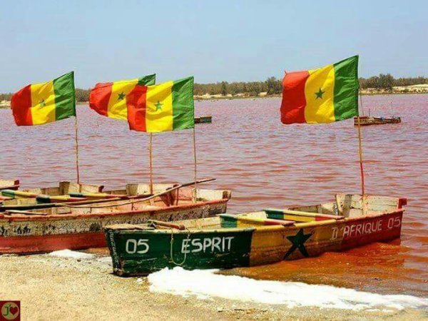 Le lac rose senegal