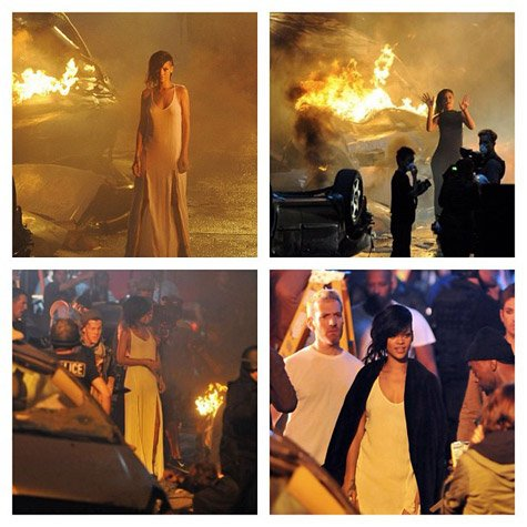 Photo du clip Diamonds de Rihanna
