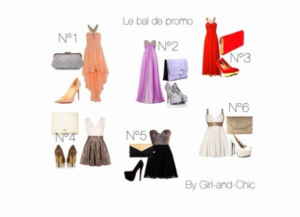 tenue pour le bal de promo blog de girl and chic. Black Bedroom Furniture Sets. Home Design Ideas