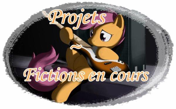 Projets/Fictions en cours