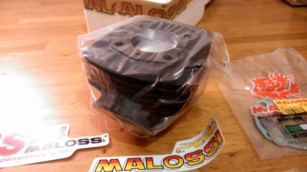 "MALOSSI Ø45,5mm fonte ""sport"""