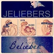 Les fan avec Justin Bieber