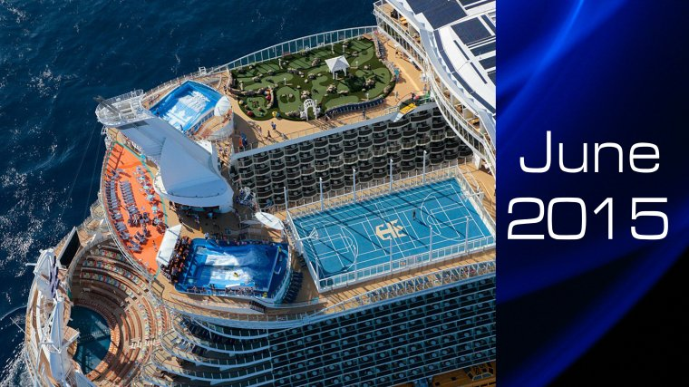 June 2015 My Cruise with ALLURE OF THE SEAS