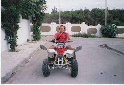 quad yamaha tunisie