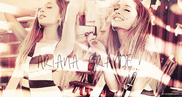 • Bienvenue sur GrandeAriane, ta source d'actu' sur la talentueuse  Ariana Grande!