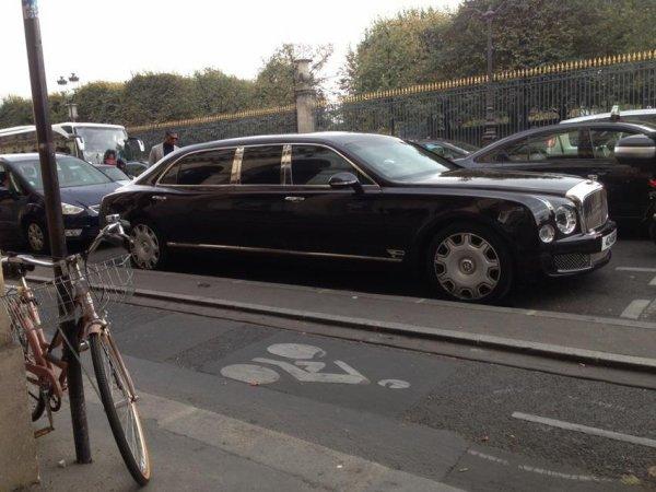 bentley muslanne limousine
