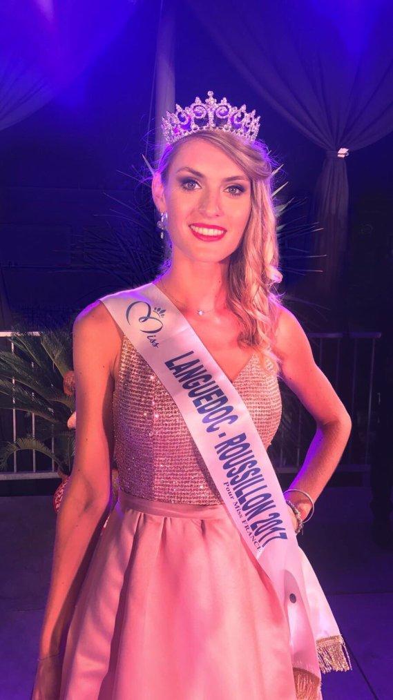 Miss Languedoc Roussillon 2017 : Alizée Rieu