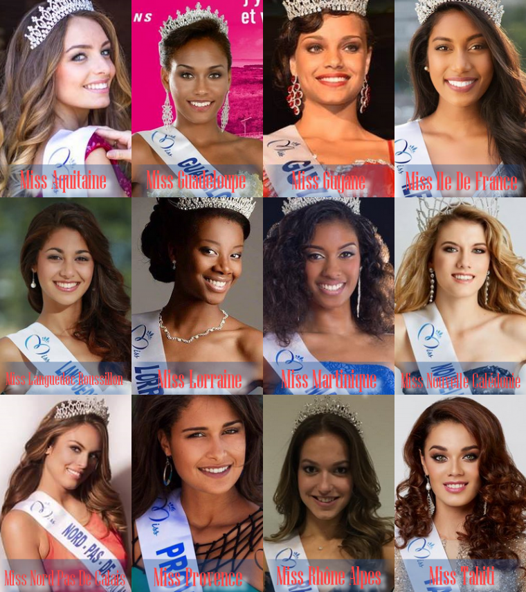 Sondage Miss France 2017