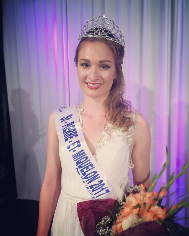 Miss Saint Pierre et Miquelon 2017 : Héloïse Urtizberea
