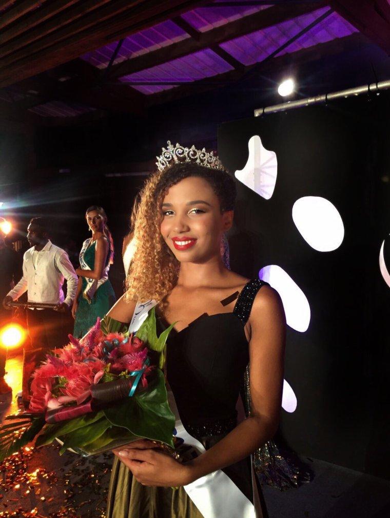 Miss Mayotte 2017 : Vanylle Emasse
