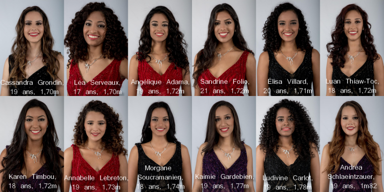 Miss Réunion 2018 : ELECTION LE 25/08/18