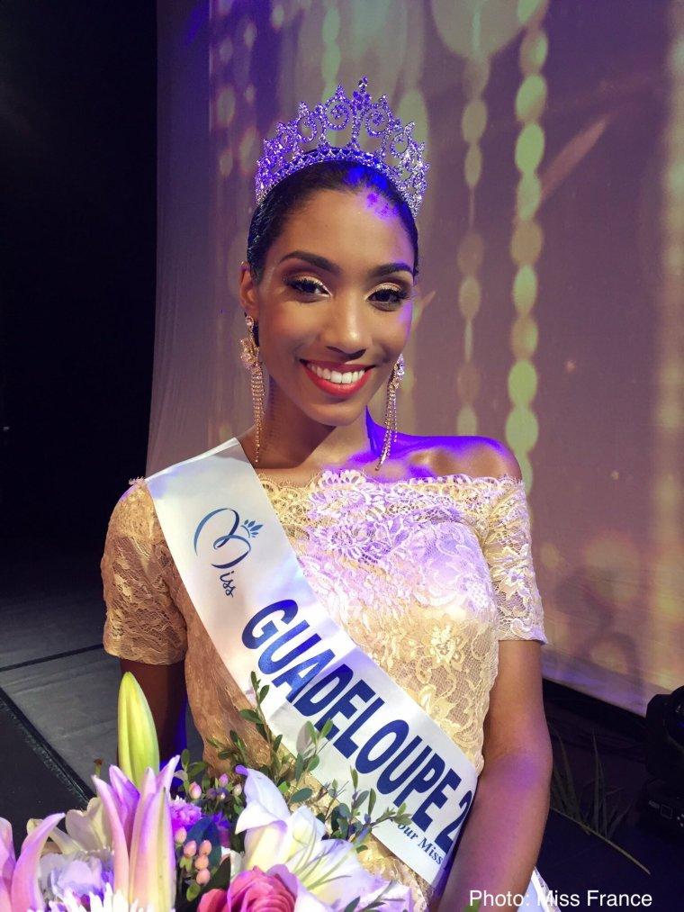 Miss Guadeloupe 2017 : Johane Matignon