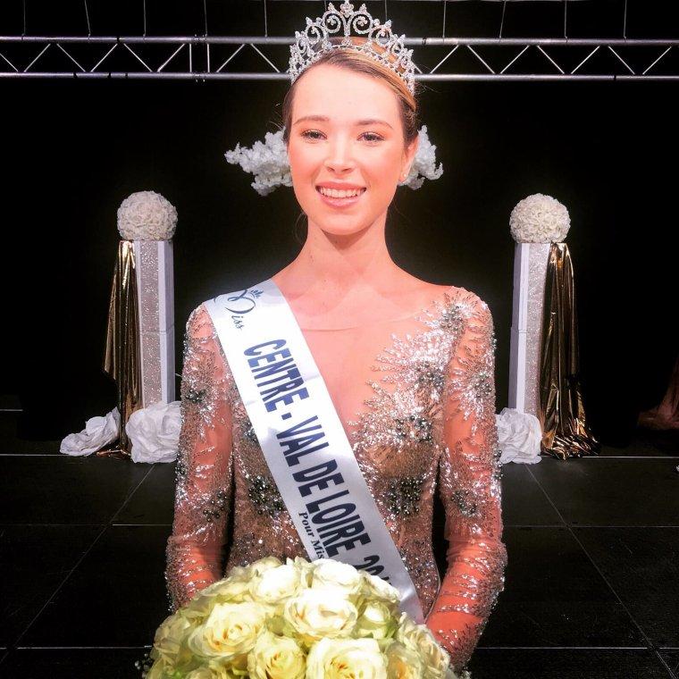 Miss Centre Val De Loire 2017 : Marie Thorin