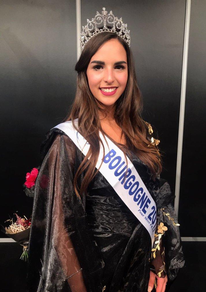 Miss Bourgogne 2017 : Mélanie Soarès