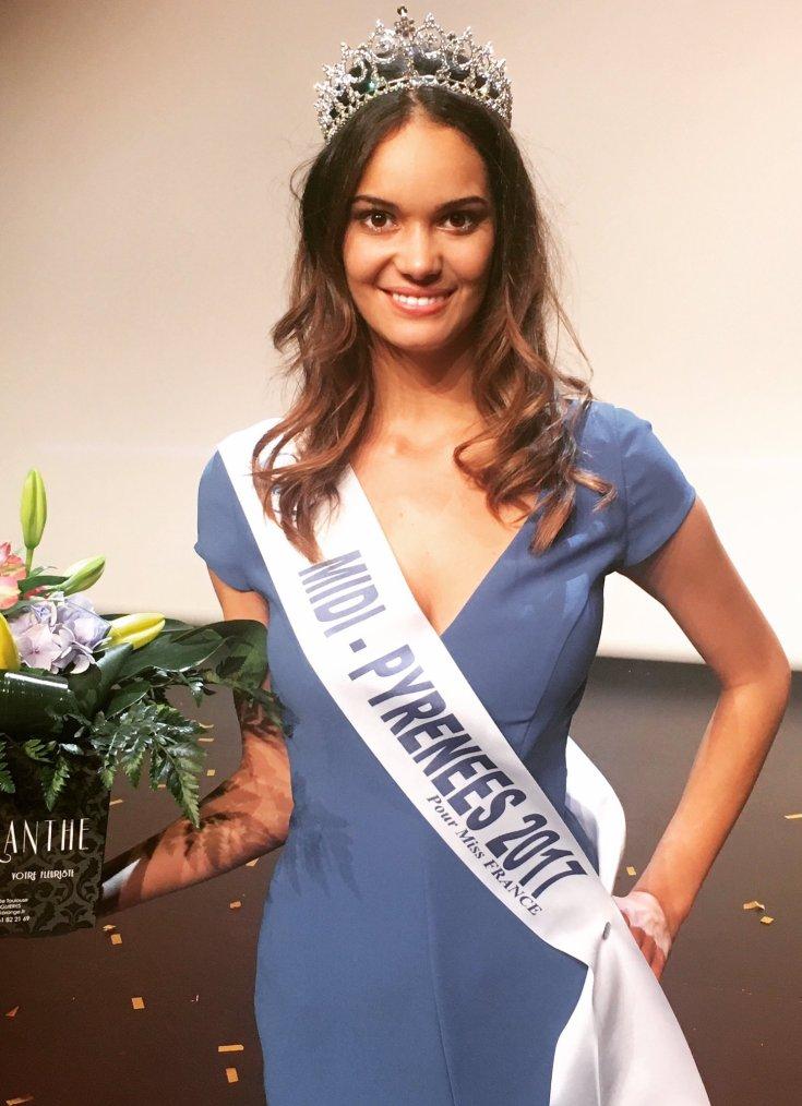 Miss Midi Pyrénées 2017 : Anais Dufillo