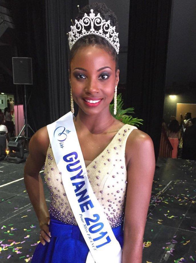 Miss Guyane 2017 : Ruth Briquet