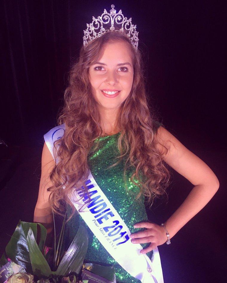 Miss Normandie 2017 : Alexane Dubourg