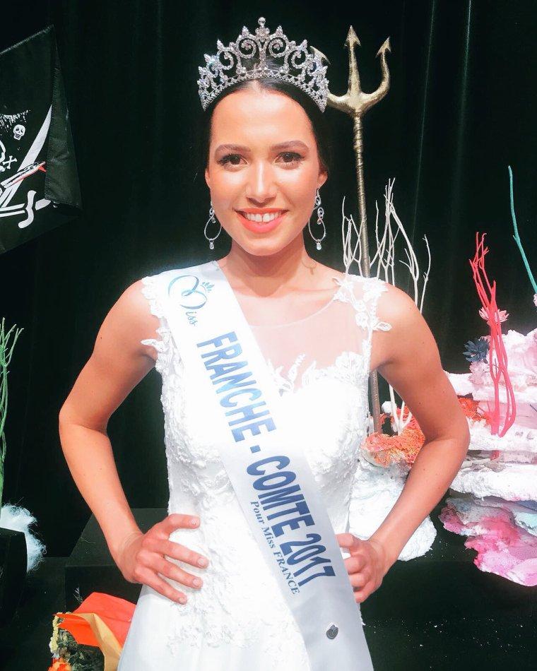 Miss Franche Comté 2017 : Mathilde Klinguer