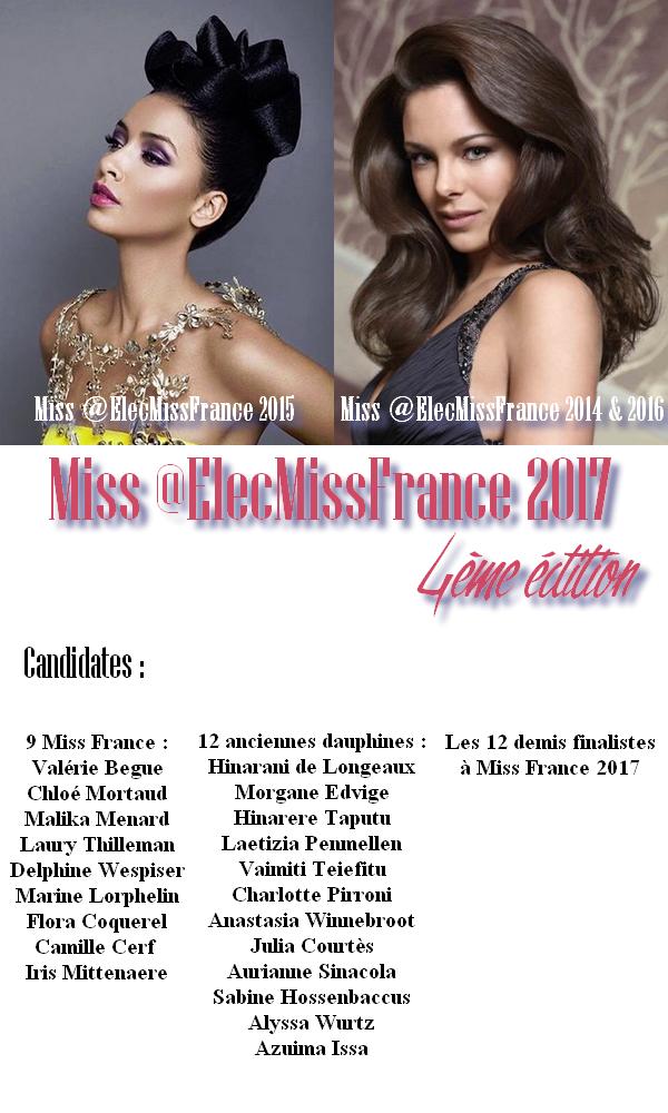 Miss @ElecMissFrance 2017