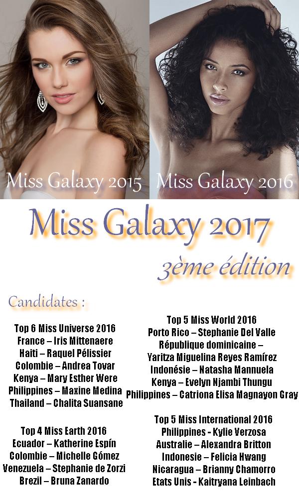 Miss Galaxy 2017