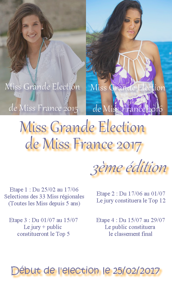 Miss Grande Election de Miss France 2017