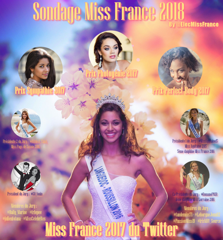 Sondage Miss France 2018