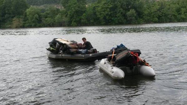 14 nuits en rivière