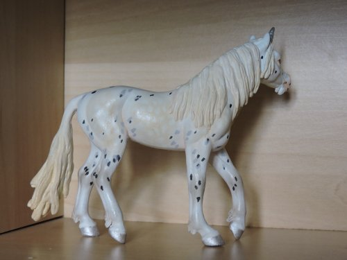 Custom : jument arabe Safari en licorne