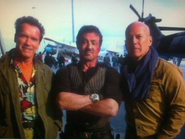 Arnold, Sylvester et Bruce