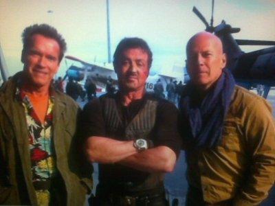 Arnold, Bruce et Sylvester