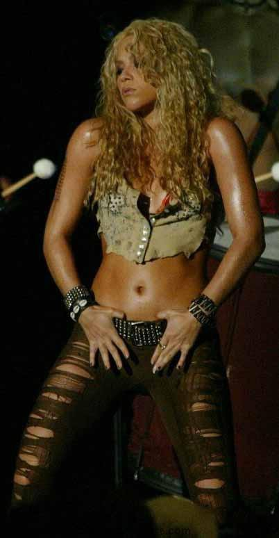Déesse colombienne : Shakira
