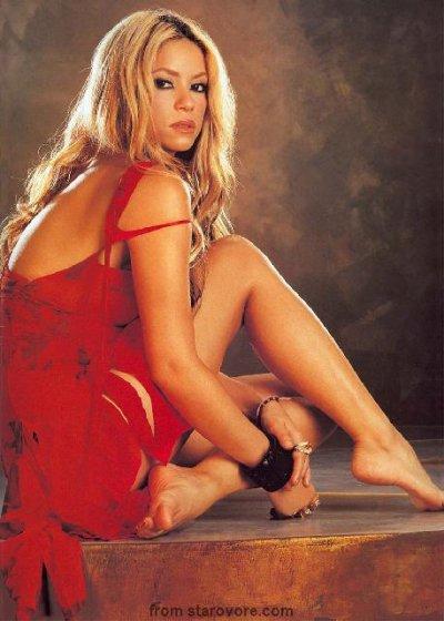 Shakira délicate