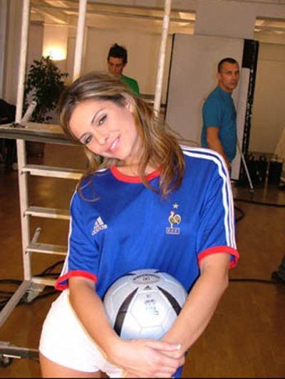 Une supportrice du Mondial !