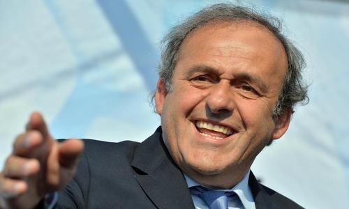 Présidence de la Fifa: Platini y pense (très) fort
