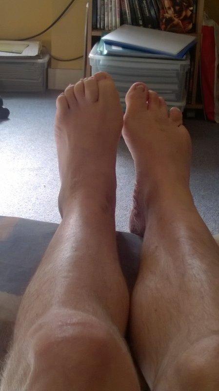 Aimez-vous mes pieds ?