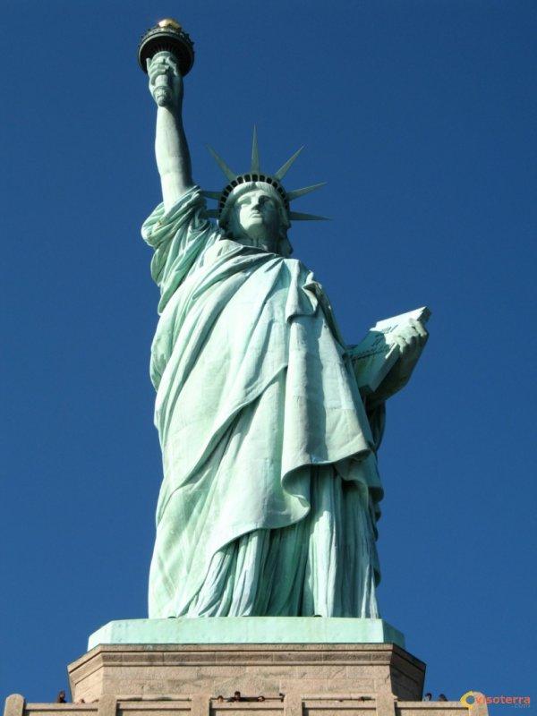 Grand monument historique américain : Statue de la Liberté