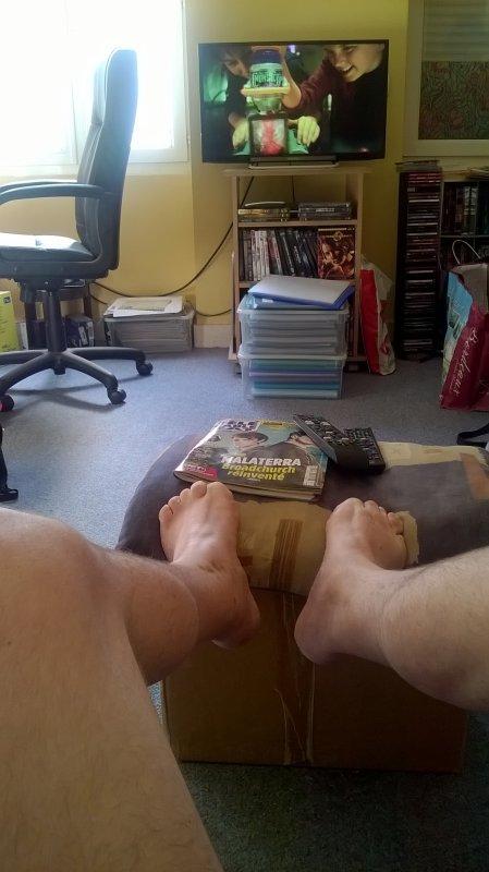 Voici mes pieds