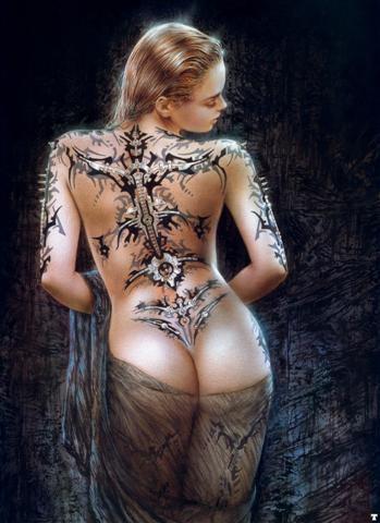 Magnifique tatouage dorsale