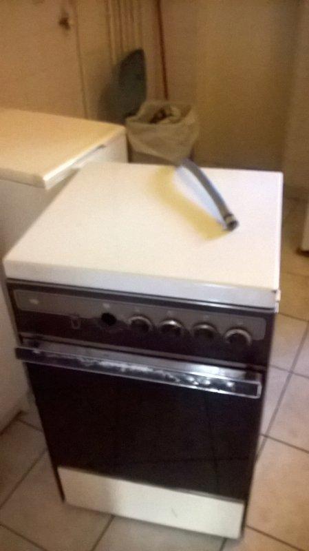 Au revoir cuisinière à gaz